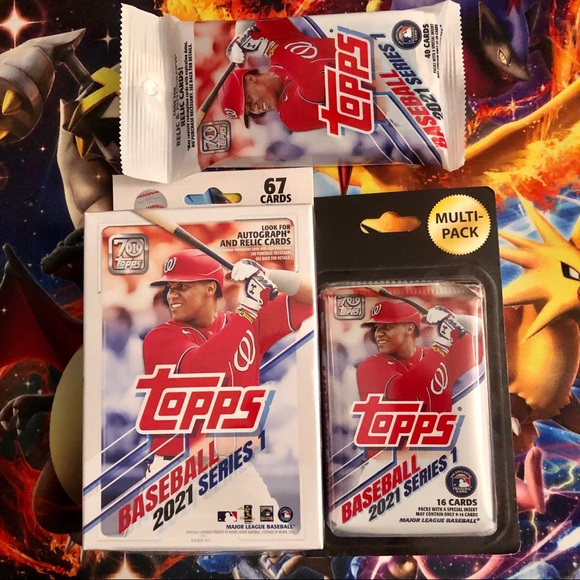 Topps Baseball Series 2021 Series 1